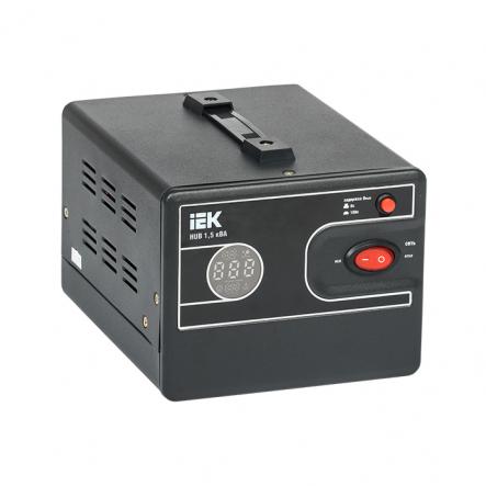 Стабилизатор напряжения переносной HUB 1,5кВА IEK - 1