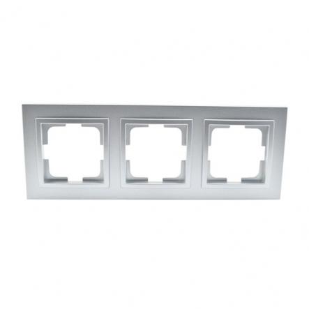 Рамка 3-я , Mono Electric, DESPINA (серебро) - 1